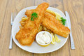 Fish And Chips Stock Photo - 21627320