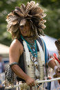 North American Indian Pow Wow. Royalty Free Stock Photography - 21635577