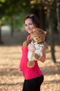 Pregnant Woman Royalty Free Stock Image - 21642076