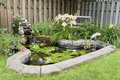 Garden Pond Stock Image - 21668991