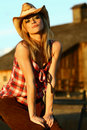 Cowgirl Stock Photos - 21692503