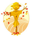 Smiling Scarecrow Royalty Free Stock Photography - 21693167