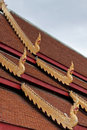 Roof Of Wat Phra Sing; Thailand Royalty Free Stock Image - 21699006