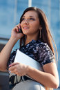 Woman Calling By Mobile Phone Stock Photography - 21701732