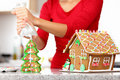 Gingerbread House Royalty Free Stock Photography - 21704297