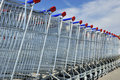 Shopping Carts Royalty Free Stock Image - 21714446