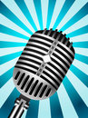 Classic Microphone Stock Photography - 21757552