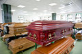 Casket Store Royalty Free Stock Photos - 21761198