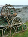 Lobster Traps Royalty Free Stock Images - 21763849