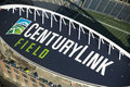 Century Link Field - Aerial Royalty Free Stock Image - 21767446