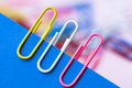 Paper Clips Royalty Free Stock Photos - 21768158