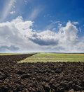 Ploughed Field Royalty Free Stock Photos - 21771198