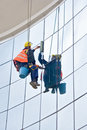 Window Washer Royalty Free Stock Photography - 2185377