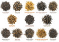 Black Tea Collection Stock Photo - 21807720
