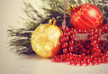 Christmas Greeting Card Royalty Free Stock Image - 21808156