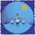 Christmas Background. Winter Card Illustration Stock Photography - 21836132