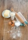 Butter Cookies Ingredients Royalty Free Stock Images - 21861869
