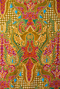 Texture Of General Traditional Thai Fabric Stock Image - 21908111