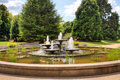 Water Fountain In Park Stock Image - 21927771