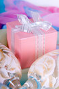 Pink Gift Box Royalty Free Stock Photography - 21957357