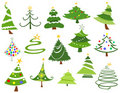 Christmas Trees Stock Photos - 21967193