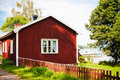 Red House And Boats Royalty Free Stock Photo - 21985775