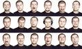 Man - Emotion Face Royalty Free Stock Images - 21989009