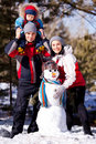 Family Outdoor Stock Image - 21994091