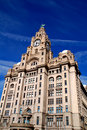 Liverpool Liver Building Royalty Free Stock Photos - 2205628