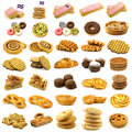 Collection Of Freshly Baked Pastry Stock Images - 22006034