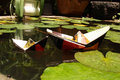 Paper Boats Royalty Free Stock Photography - 22008697