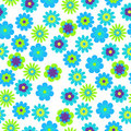 Seamless Floral Background Royalty Free Stock Images - 22014359