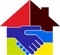 Deal Home Logo Royalty Free Stock Image - 22032556