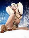 Winter Queen Royalty Free Stock Photo - 22036115
