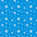 Seamless Snowflake  Background Royalty Free Stock Photography - 22040637