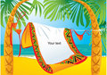 Tropic Beach Royalty Free Stock Images - 22059799