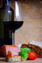 Tapas And Wine Royalty Free Stock Photography - 22061907
