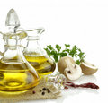 Olive Oil And Spices Royalty Free Stock Photos - 22065998