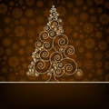 Retro Christmas Card Template. EPS 8 Royalty Free Stock Photography - 22075667