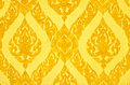 Thai Art Wall Pattern Royalty Free Stock Images - 22077869