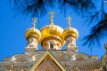 Cupola Of Maria Magdalena Church In Jerusalem Royalty Free Stock Image - 22079926