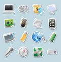 Sticker Icons For Technology And Devices Stock Images - 22093984