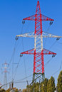 Electrical Tower / Utility Pole / Power Pole Royalty Free Stock Photography - 22099317