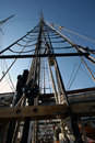 Mast And Rigging Royalty Free Stock Photography - 2214207