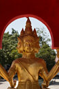 Golden Buddha Statue At Big Buddha Temple Stock Images - 22103354