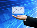Get The Business Newsletter, Technology Concept Royalty Free Stock Photos - 22119508