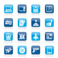 Computer Games Tools And Icons Royalty Free Stock Photo - 22129385