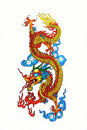 Colorful Chinese Dragon Stock Image - 22139591
