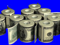 Roll Of Dollars Stock Photography - 2226572