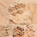 Angelic Collage Stock Images - 22210464